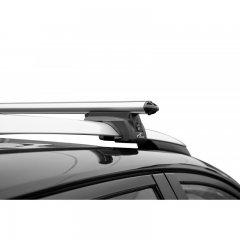 Багажник Lux Элегант 1,2 м на рейлинг с просветом, аэро-классик 53 мм (Арт. 842617)