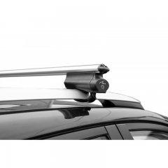 Багажник Lux Бэлт 1,2 м на рейлинг с просветом, аэро-классик 53 мм (Арт. 844000)