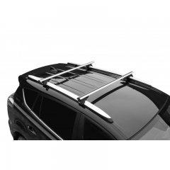 Багажник Lux Классик 1,2 м на рейлинг с просветом, аэро-трэвел 82 мм (Арт. 846189)