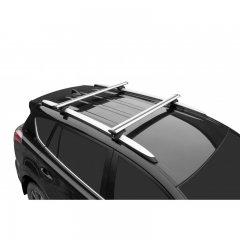 Багажник Lux Элегант 1,2 м на рейлинг с просветом, аэро-тревэл 82 мм (Арт. 846226)